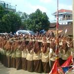 Pengambilan Badge RBA Kelas 4 TMI Putri