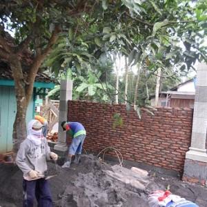 Pembangunan Pagar Karas Pesantren