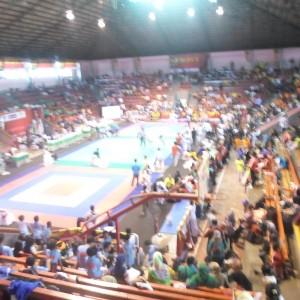 Para Santri Atlit Taekwondo Bertanding Dalam Bupati Kendal Cup 2014