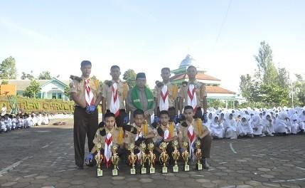 KOPASTRADA mewakili Kendal dalam Perkemahan Santri tingkat Jawa Tengah