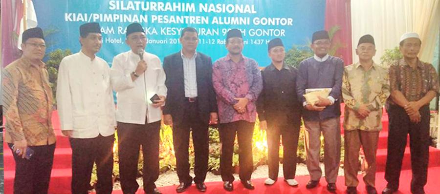 Pimpinan Pesantren Menghadiri Silatnas 90 Tahun Gontor