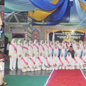 Pelantikan Pengurus Pramuka dan Taekwondo Massa Bhakti 2016/2017 Pondok Pesantren Darul Amanah