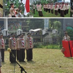Upacara Pembukaan Pengambilan Badge Saka Bhayangkara Polsek Sukorejo oleh Bpk. AKP Sugeng Heryanto, Pondok Pesantren Darul Amanah