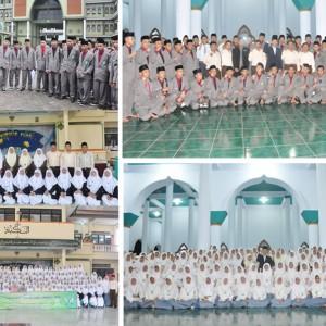 Rihlah Ilmiyah Santri Kelas 5 TMI Pondok Pesantren Darul Amanah  Di Pondok Pesantren Gontor 1 Ponorogo Al Mawaddah Dan Walisongo