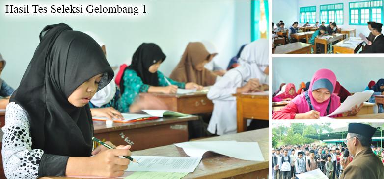 Pengumuman Hasil Ujian Seleksi Gelombang 1 Santri Baru Pondok Pesantren Darul Amanah Sukorejo Kendal Tahun Pelajaran 2016/2017