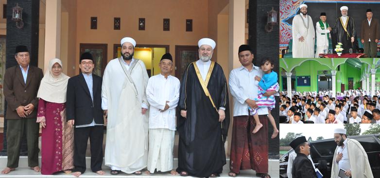 Kunjungan Syekh Mahmud Syahatah Dan Syekh Omar Deeb  Ulama Dari Damaskus di  Darul Amanah