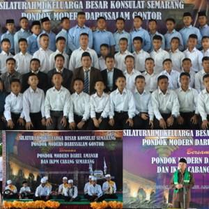 Silaturahmi Konsulat Semarang PM.Gontor