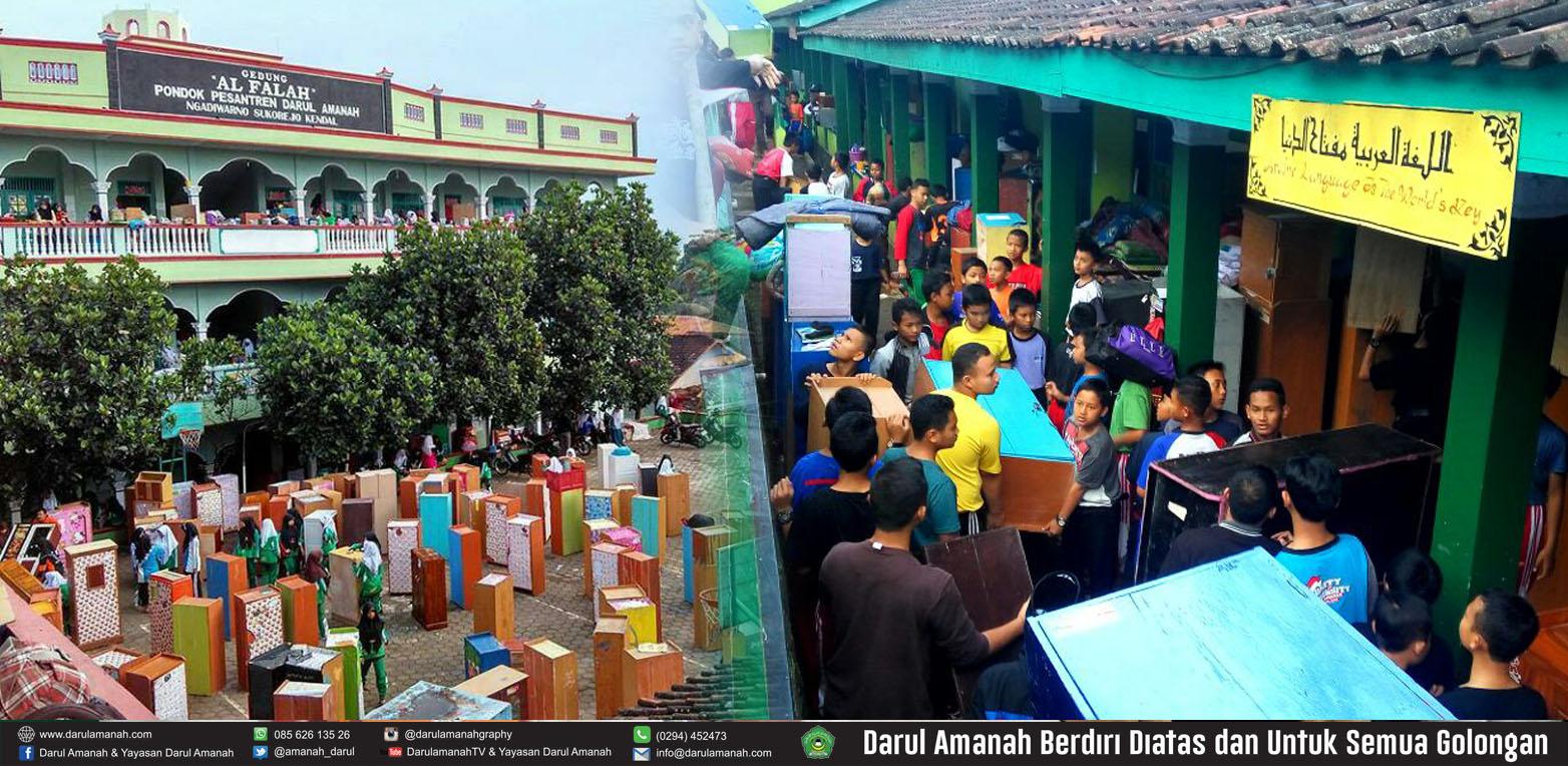 PINDAH KAMAR, MENGEMBANGKAN SOSIAL SANTRI Darul Amanah Sukorejo Kendal Jawa Tengah