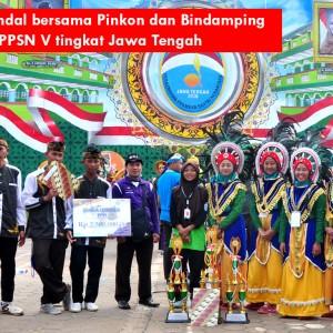 Kontingen Kendal Sabet Juara Umum II Di PPPSN V Tingkat Jawa Tengah