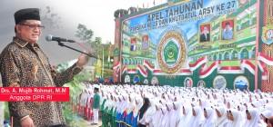 Anggota DPR-RI Ahmad Mujib, buka Perlombaan PORSEK XXV
