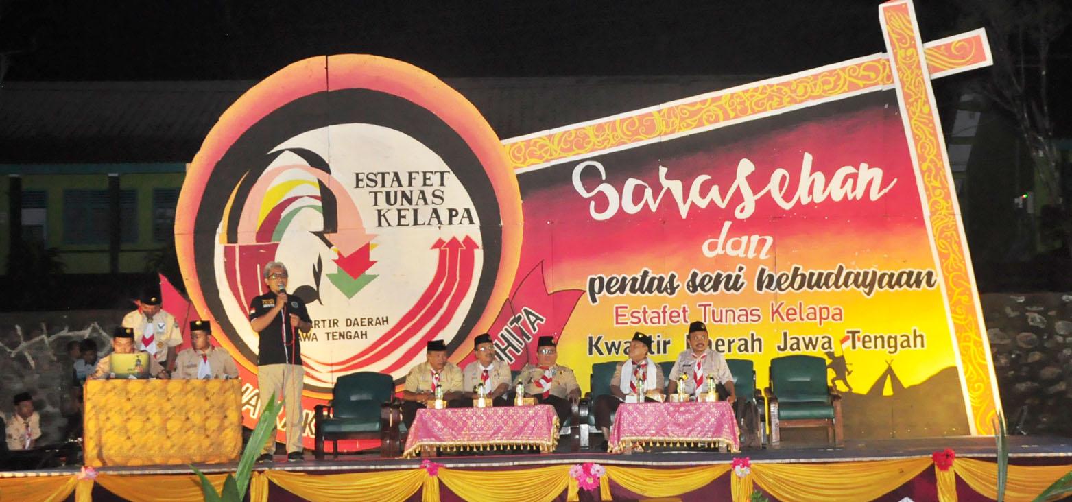 Sarasehan Estafet Tunas Kelapa Kwarda Jateng
