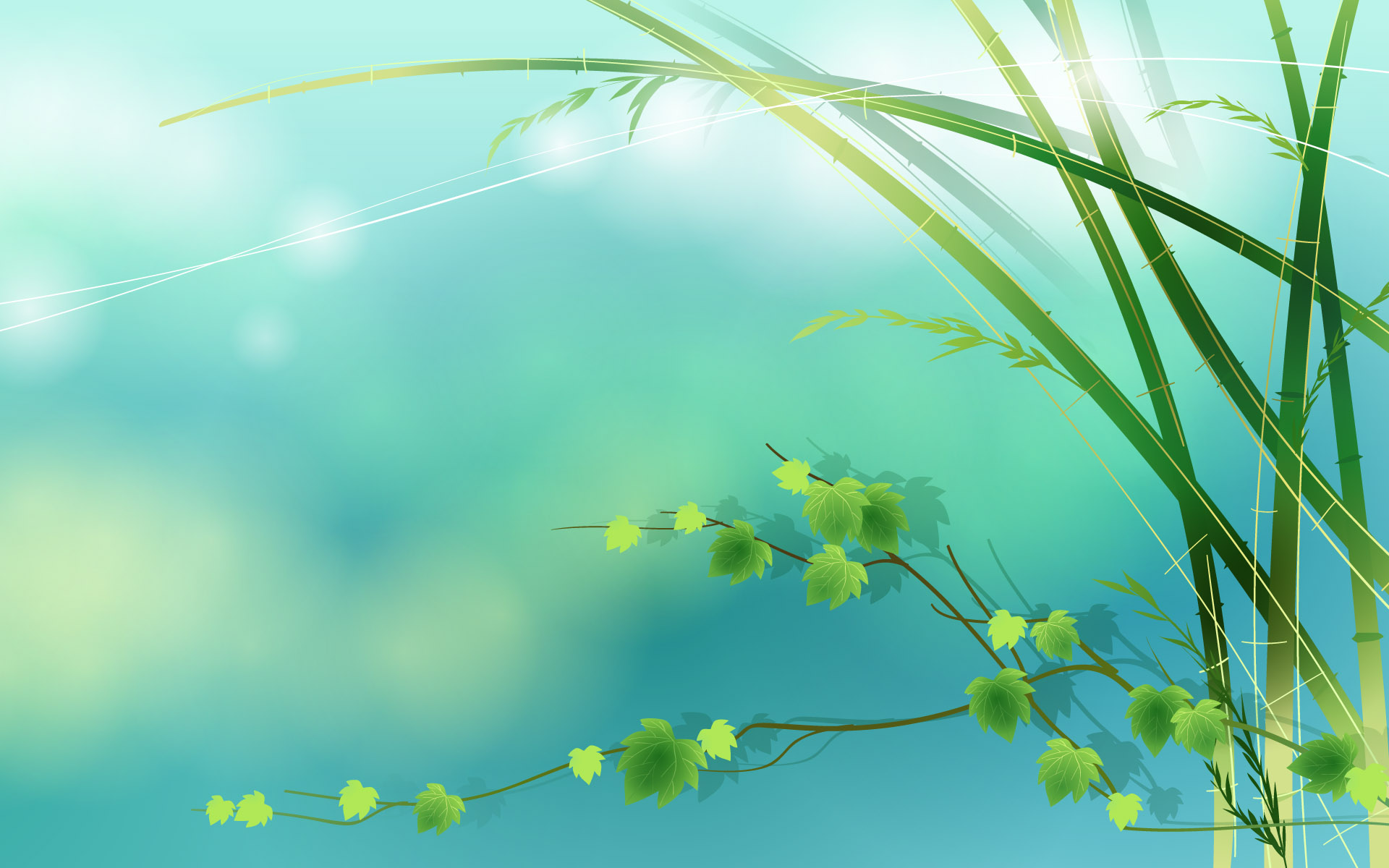 vector beach spring wallpaper scenery backgrounds green wallpapers array wallwuzz hd wallpaper 7513