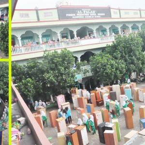 Intiqolul Hujroh (Perpindahan Kamar) Pondok Pesantren Darul Amanah OSDA Massa hakti 2016/2017