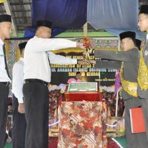 Pelantikan Pengurus OSDA Massa Bhakti 2016/2017 Pondok Pesantren Darul Amanah