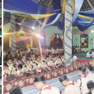 Pelantikan Pengurus Putra Pramuka dan Taekwondo Masssa Bhakti 2016/2017 Pondok Pesantren Darul Amanah Sukorejo Kendal