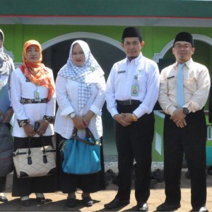 Monitoring UAMBN Oleh Bapak Drs. H. Muh Sa'dun, M.Ag Kakan Kemenag Kabupaten Kendal