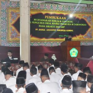 Pembukaan Muker (Musyawarah Kerja) Pengurus Massa Bhakti 2016/2017 Pondok Pesantren Darul Amanah Kendal Jawa Tengah