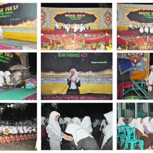 Khatmil Qur'an dalam rangka Tasyakuran Ujian Nasional Angkatan 625  Pondok Pesantren Darul Amanah Sukorejo Kendal Jawa Tengah