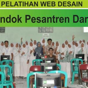 PELATIHAN WEB DESAIN  UNTUK SMK DARUL AMANAH