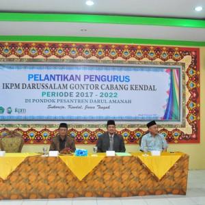 PELANTIKAN PENGURUS IKPM CABANG KENDAL MASA BAKTI 2017-2022