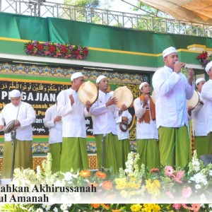 Ahbabul Mustofa Meriahkan Akhirussanah Pondok Pesantren Darul Amanah