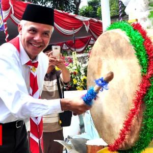 Tabuh Bedug, Gubernur Jawa Tengah Tutup PPSN V  Tingkat Jawa Tengah tahun 2018