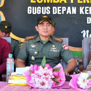 Dandim 0715/ Kendal, Letkol Czi Hendro Edi Busono sampaikan pesan Pangdam IV/Diponegoro kepada Santri Darul Amanah