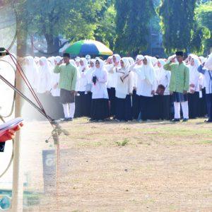 Darul Amanah Ambil Bagian Petugas Upacara Hari Santri Nasional di Provinsi Jawa Tengah
