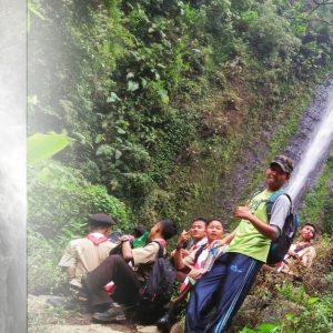 25 Anggota Saka Wirakartika Ikuti Survive di Curug Semawur