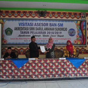 Akreditasi SMK Darul Amanah