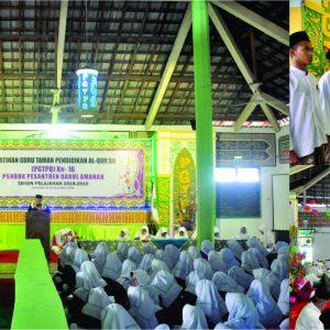 Pembukaan kegiatan Pelatihan Guru Taman Pendidikan Al-Qur'an (PGTPQ) ke-16 Pondok Pesantren Darul Amanah Tahun pelajaran 2018-2019
