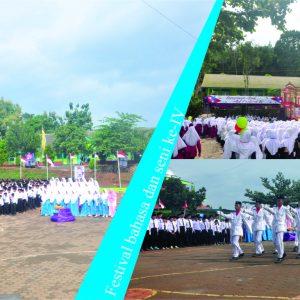 Upacara Pembukaan Festival bahasa dan seni ke-IV Pondok Pesantren Darul Amanah