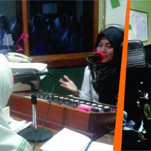 Belajar Penyiaran Radio, Santri Darul Amanah kunjungi kantor penyiaran Radio Dais 107,9 FM