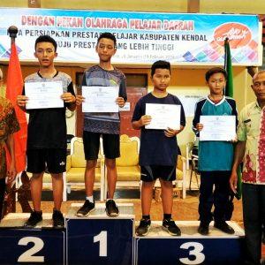 Darul Amanah Raih Juara 2 Cabang Tenis Meja Putra Pada Gelaran POPDA 2019 Kabupaten Kendal