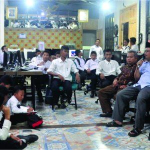 Santri Darul Amanah Ngaji Jurnalistik Bareng Suara Merdeka