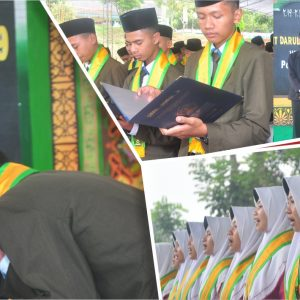 240 Santri akhir TMI Pondok Pesantren Darul Amanah resmi diwisuda