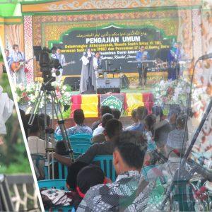 Hj. Wafiq Azizah; Juara Qori' tingkat Asean ramaikan Haflah Akhirussanah Pondok Pesantren Darul Amanah