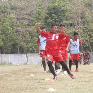 Lakukan Pemanasan, DAFA Optimis Mampu Hadapi Darul Falah FC