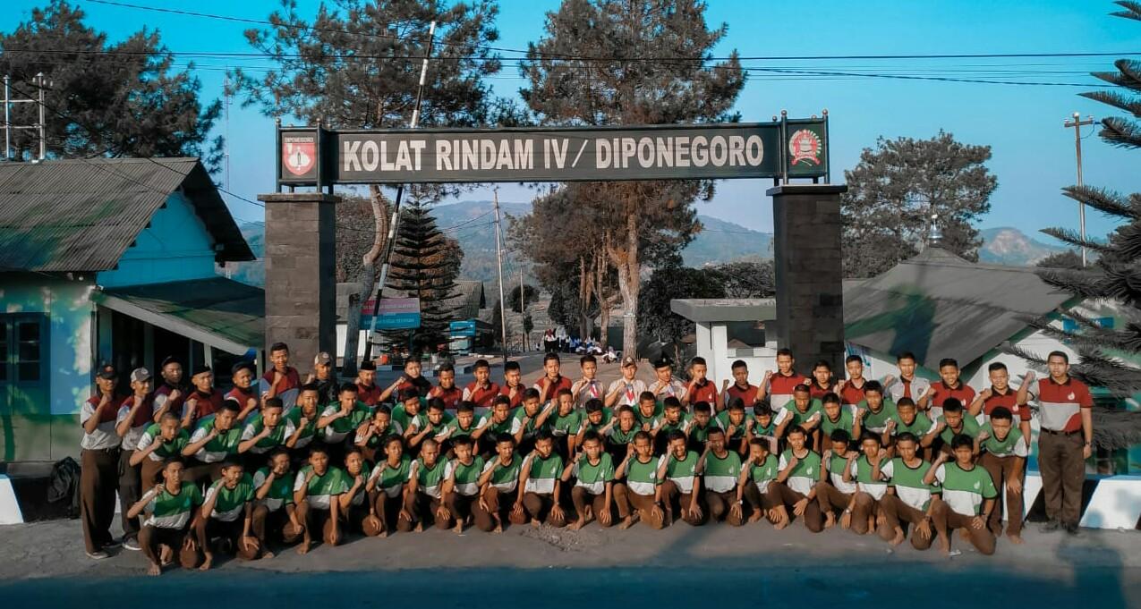 Pramuka Darul Amanah Adakan Perkemahan di Barak TNI Sumowono
