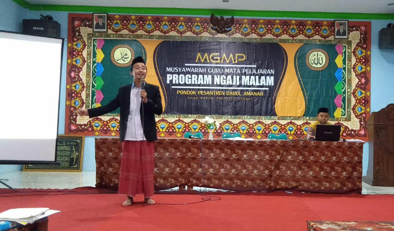 Tingkatkan kualitas belajar santri, Darul Amanah adakan Sosialisasi Penyusunan I'dadu at-Tadris