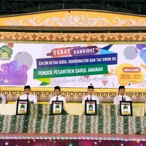 Debat Kandidat Calon Ketua Organisasi Santri Darul Amanah (OSDA)