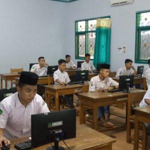 Darul Amanah Gelar Gladi Simulasi Ujian Akhir Madrasah Berstandar Nasional Berbasis Komputer (UAMBN BK) Tahun Pelajaran 2019-2020