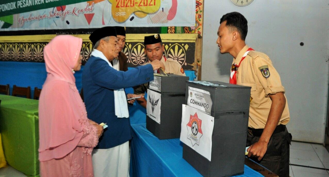 Darul Amanah Gelar Pemilu Serentak Pemilihan Calon Ketua Koordinator Pramuka dan Calon Ketua Taekwondo Masa Bhakti 2020/2021
