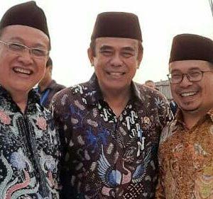 Wakil Pimpinan Pondok Pesantren Darul Amanah Hadiri Groundbreaking Pembangunan Museum Rasulullah