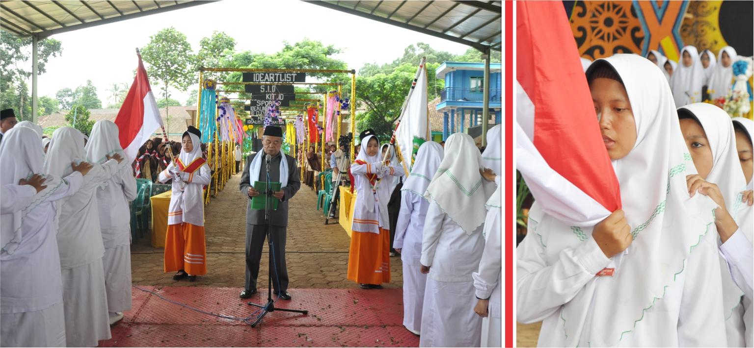 Pimpinan Pesantren Darul Amanah Sukorejo Lantik Pengurus Baru Putri Masa Bakti 2020/2021