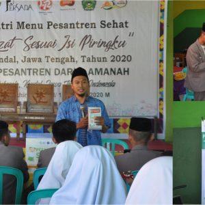 Pondok Pesantren Darul Amanah Sukorejo Kendal Ikuti Program Nutri Menu Pesantren Sehat
