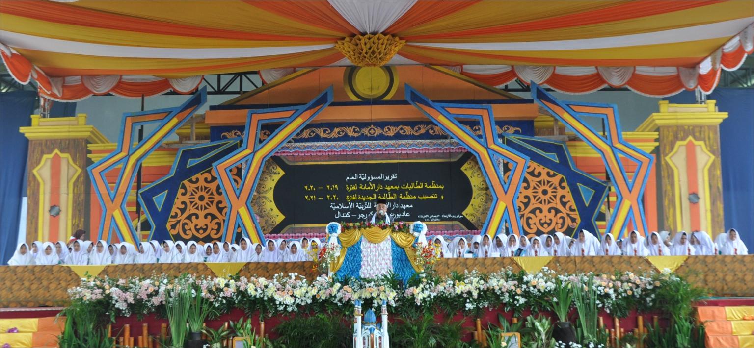 Struktur Pengurus Putri Organisasi Santri Darul Amanah (OSDA) Periode 2020/2021