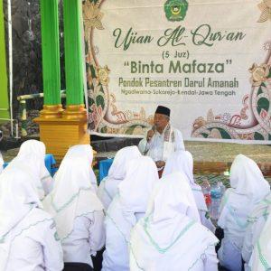 Cetak Generasi Qur'ani : Pondok Pesantren Darul Amanah Gelar Ujian Tahfidzul Qur'an