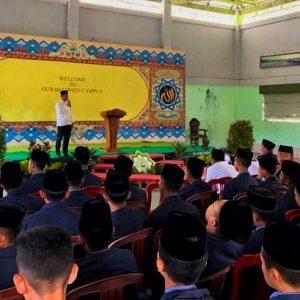 Pengurus Organisasi Santri Darul Amanah (OSDA) Studi Banding ke Organisasi Santri Baitussalam (OSBA) Prambanan