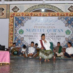 Pondok Pesantren Darul Amanah Gelar Peringatan Nuzulul Qur'an